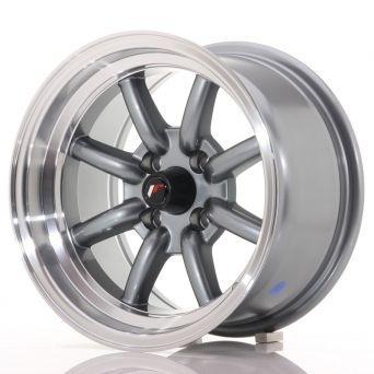 Japan Racing Wheels - JR-19 Gun Metal (14x8 inch)