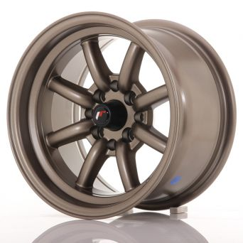 Japan Racing Wheels - JR-19 Matt Bronze (14x8 inch)