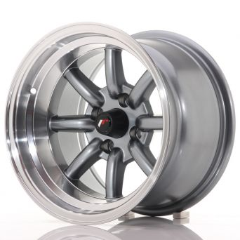 Japan Racing Wheels - JR-19 Gun Metal (14x9 inch)