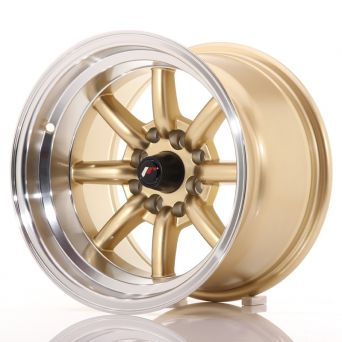 Japan Racing Wheels - JR-19 Gold (14x9 inch)