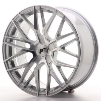Japan Racing Wheels - JR-28 Silver Machined (19x8.5 inch)