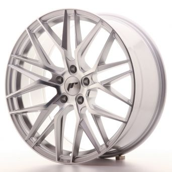 Japan Racing Wheels - JR-28 Silver Machined (20x8.5 inch)