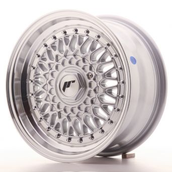 Japan Racing Wheels - JR-9 Silver + S (15x7 inch)