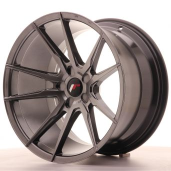 Japan Racing Wheels - JR-21 Hiper Black (19x11 inch)