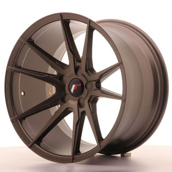 Japan Racing Wheels - JR-21 Matt Bronze (19x11 inch)