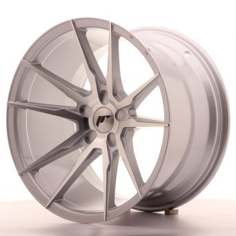 Japan Racing Wheels - JR-21 Silver Machined (19x11 inch)