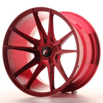 Japan Racing Wheels - JR-21 Plat Red (19x11 inch)
