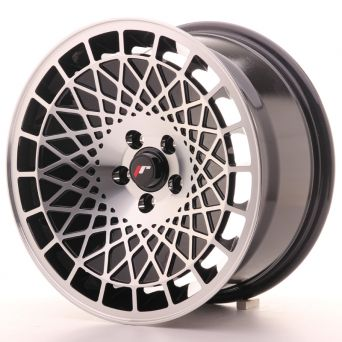 Japan Racing Wheels - JR-14 Black Machined (16x8 inch)