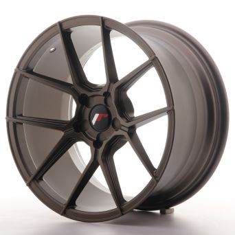 Japan Racing Wheels - JR-30 Matt Bronze (18x8.5 inch)