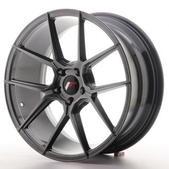 Japan Racing Wheels - JR-30 Hyper Black (19x8.5 inch)