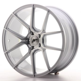 Japan Racing Wheels - JR-30 Silver Machined (19x8.5 inch)