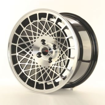 Japan Racing Wheels - JR-14 Black Machined (15 inch)