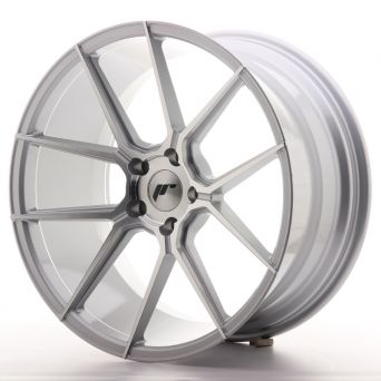 Japan Racing Wheels - JR-30 Silver Machined (20x10 inch)