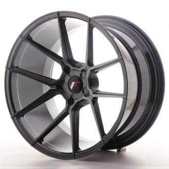 Japan Racing Wheels - JR-30 Hyper Black (20x11 Zoll)