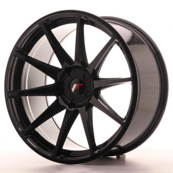 Japan Racing Wheels - JR-11 Glossy Black (20x10 inch - 5x112 ET 30)