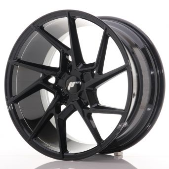 Japan Racing Wheels - JR-33 Glossy Black (20x10 inch)