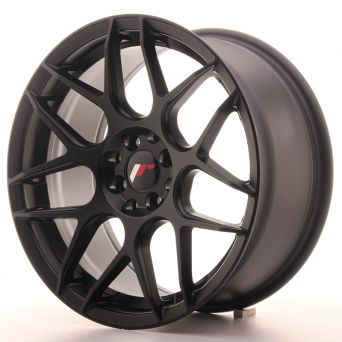Season Sale - Japan Racing Wheels - JR-18 Matt Black (16x8 inch)