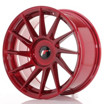 Season Sale - Japan Racing Wheels - JR-22 Plat Red (17x8 inch)