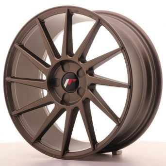 Season Sale - Japan Racing Wheels - JR-22 Matt Bronze (18x7.5 inch)