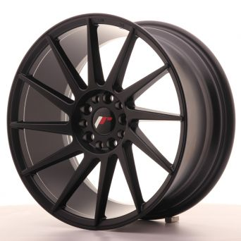 Season Sale - Japan Racing Wheels - JR-22 Matt Black (18x8.5 inch)