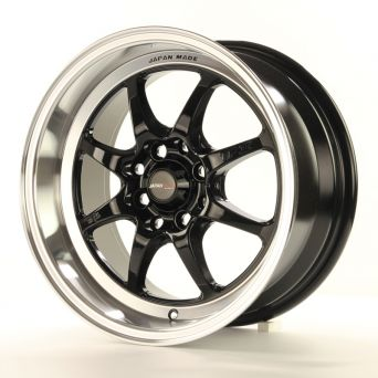 Japan Racing Wheels - TF-2 Gloss Black (15 inch)