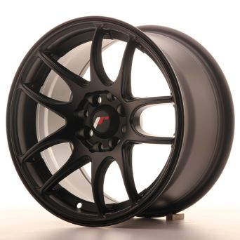 Season Sale - Japan Racing Wheels - JR-29 Matt Black (15x8 inch)