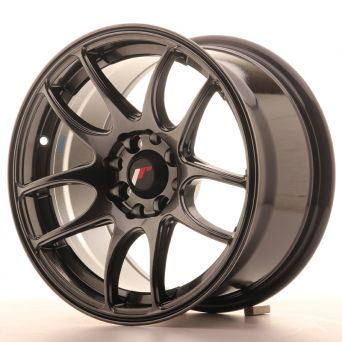 Season Sale - Japan Racing Wheels - JR-29 Hiper Black (15x8 inch)