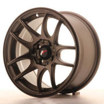 Season Sale - Japan Racing Wheels - JR-29 Matt Bronze (15x8 inch)