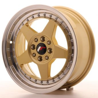 Season Sale - Japan Racing Wheels - JR-6 Gold (16x7 inch)