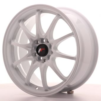 Season Sale - Japan Racing Wheels - JR-5 White (17x7.5 Zoll)