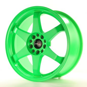 Season Sale - Japan Racing Wheels - JR-3 Green (18x8.5 inch)