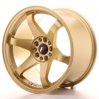 Season Sale - Japan Racing Wheels - JR-3 Gold (18x10 inch)
