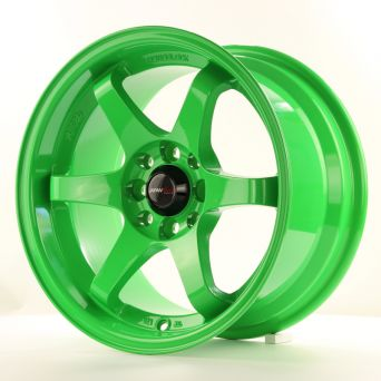 Season Sale - Japan Racing Wheels - JR-3 Green (15x8 inch)
