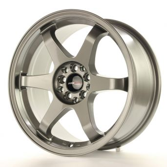 Japan Racing Wheels - JR-3 Gun Metal (17x9 inch)