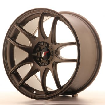 Season Sale - Japan Racing Wheels - JR-29 Matt Bronze (18x9.5 inch)