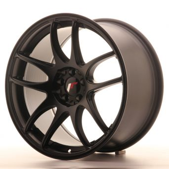 Season Sale - Japan Racing Wheels - JR-29 Matt Black (18x9.5 inch)