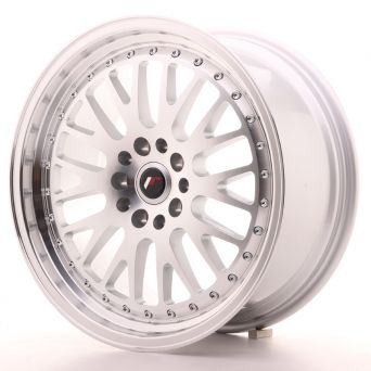 Japan Racing Wheels - JR-10 Silver Machined (18x8.5 inch)