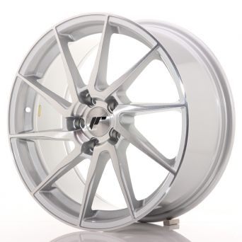 Japan Racing Wheels - JR-36 Brushed Silver (18x8 inch)