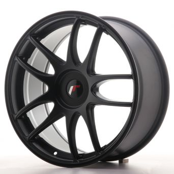 Season Sale - Japan Racing Wheels - JR-29 Matt Black (19x8.5 inch)