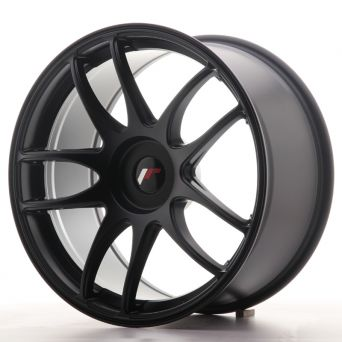 Season Sale - Japan Racing Wheels - JR-29 Matt Black (19x9.5 inch)