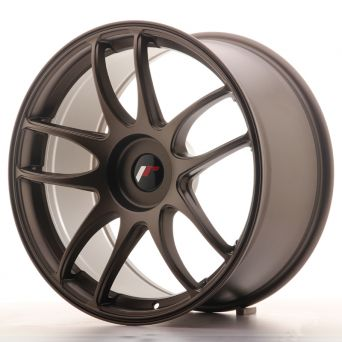 Season Sale - Japan Racing Wheels - JR-29 Matt Bronze (19x9.5 inch)