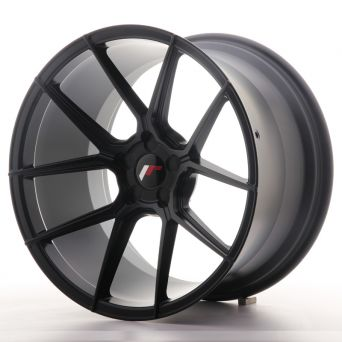 Season Sale - Japan Racing Wheels - JR-30 Matt Black (19x11 inch)