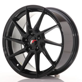 Japan Racing Wheels - JR-36 Glossy Black (18x8 inch)