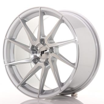 Japan Racing Wheels - JR-36 Brushed Silver (18x9 inch)