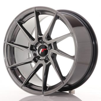 Japan Racing Wheels - JR-36 Hyper Black (18x9 inch)