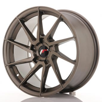 Japan Racing Wheels - JR-36 Matt Bronze (18x9 inch)