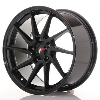 Japan Racing Wheels - JR-36 Glossy Black (18x9 inch)