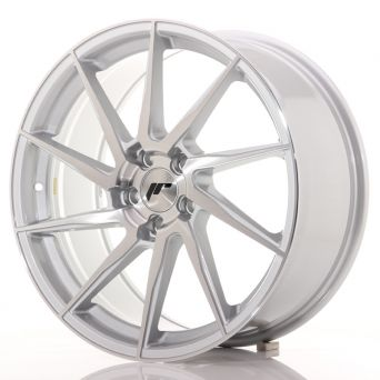 Japan Racing Wheels - JR-36 Brushed Silver (19x8.5 inch)