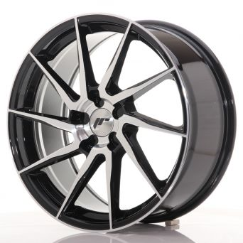 Japan Racing Wheels - JR-36 Glossy Black  (19x8.5 inch)