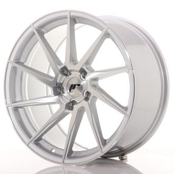 Japan Racing Wheels - JR-36 Brushed Silver (19x9.5 inch)
